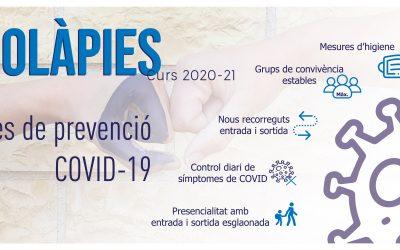 Mesures COVID 2020-2021